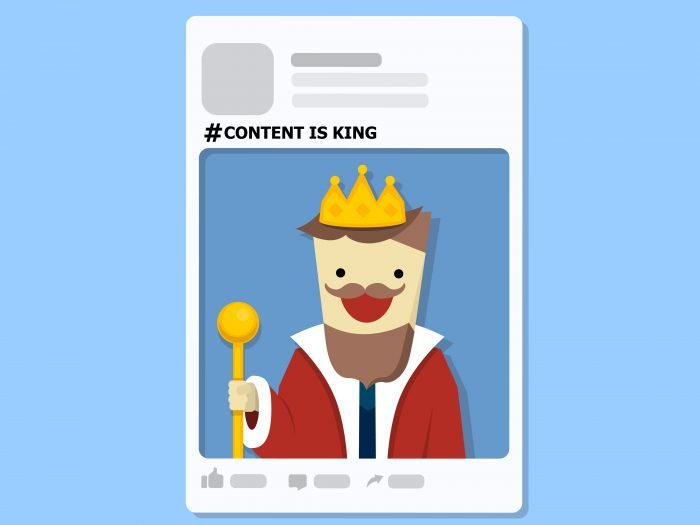 An illustration of content marketing