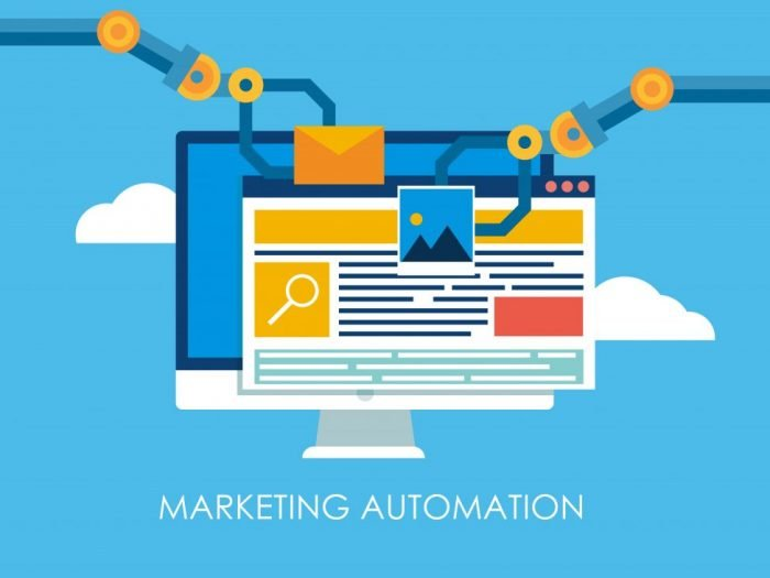 An illustration of marketing automation