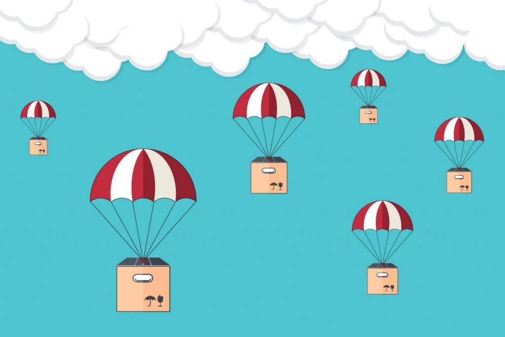 An illustration of Dropshipping