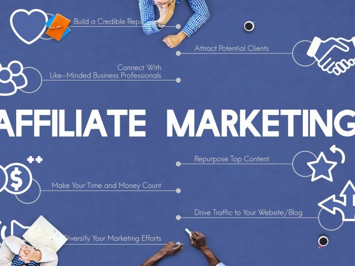 Affiliate marketing typography